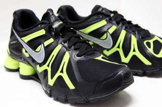 NIKE SHOX TURBO + 13 Men Running Shoes Sz 8 ~ 15 #525155 007 Blk/Volt