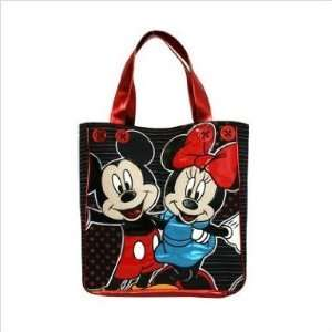 Tote Bag   Disney  Mickey & Minnie Mouse Heart Hand