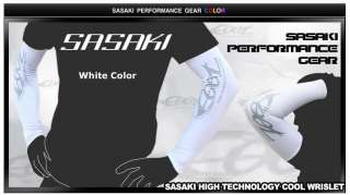 SASAKI Sports GUARD UV COMPRESSION ARM SLEEVE COOL