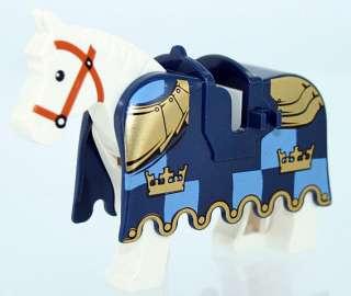 Lego Horse w/ Gold Armor Lego Figure Minifig