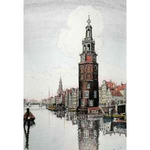 Amsterdam upright Etching Power, J R , Topographical Engraving