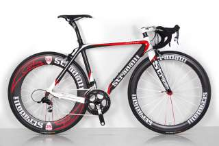 TREBISACCE RED PRO SRAM RED BLACK SL CARBON ROAD BIKE BICYCLE 54 cm