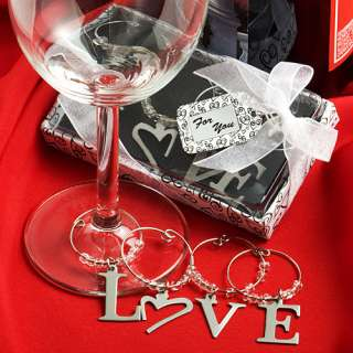 that are simply charming? Your guests will LOVE these wine charms