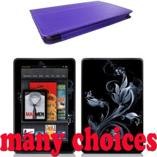 Case Cover for  Kindle Fire Tablet + Skin Accessory PUR01