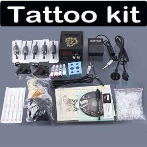 Equipment Complete Tattoo Color Inks Machines Gun Equipment Power