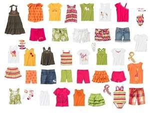 Gymboree Batik Summer Tees Tank Tops Shorts Skirts Size 6 7 8 9 10 12