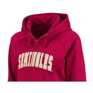 Florida State Seminoles Colosseum NCAA Womens Fusion Full Zip Fleece