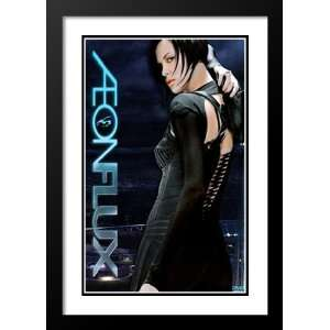 Aeon Flux 20x26 Framed and Double Matted Movie Poster   Style E   2005