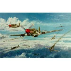 Gentile and Wingman   Henry Godines   P 51 Mustang Ace Don Gentile