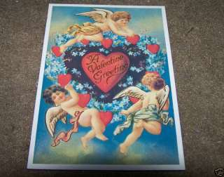 Vintage Lillian vernon Valentine Greetings Postcard