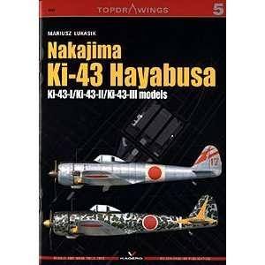 Nakajima Ki 43 Hyabusa: Ki 43 I,  II,  III Models (Top