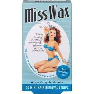 Miss Wax 20 mini hair removal strips Health & Personal