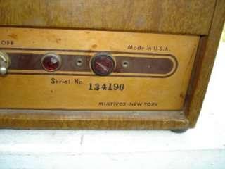 FANCY 1950S PREMIER TUBE GUITAR AMPLIFIER STILL WORKS~*~