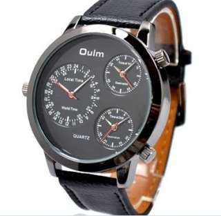 Russian Army Military Quartz Sports Leather Mens Watch Gift