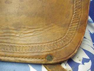 OLD EMBOSSED LEATHER RIFLE HOLSTER WESTERN COWBOY SADDLE CASE