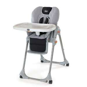 Chicco Polly High Chair (dbl Pad)   Romantic cloth: Baby