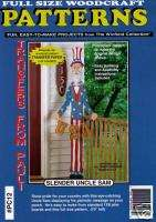 Slender Uncle Sam Yard Art Woodworking Pattern