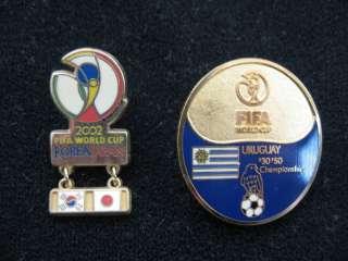 2002 FIFA WORLD CUP PIN BADGE JAPAN 2 PINS