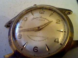 VINTAGE ANDRE BOULEVARD 17 JEWEL WATCH 4U2FIX STEM