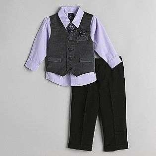 Shirt, Paisley Tie, Velvet Vest with Pocket Square, Pant Set  Dockers
