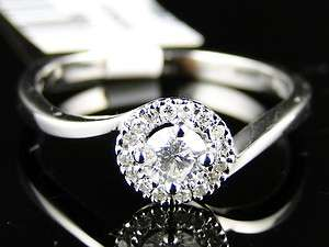 GOLD DIAMOND ROUND CUT SOLITAIRE ENGAGEMENT ANNIVERSARY RING