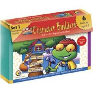 BOOKS CHARACTER BUILDERS SET 1 Toys & Games