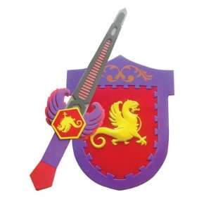 Phoenix Foam Sword and Shield: Sports & Outdoors