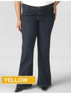 LANE BRYANT   Original Right Fit stretch flare jean