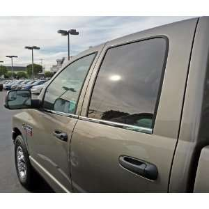 Ram Quad Cab 02 08 Insert Accents Beltline   Stainless Steel Polished