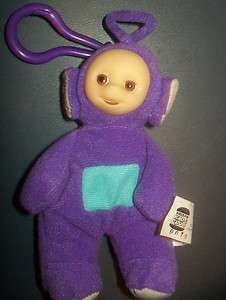 Burger King Teletubbies Tinky Winky Finger Puppet Plush