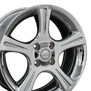 Altima Style Wheels Fits Nissan   Chrome 17x7 Set of 4