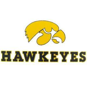 Iowa Hawkeyes Logo Decal:  Sports & Outdoors