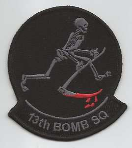 13th BOMB SQUADRON NEW patch