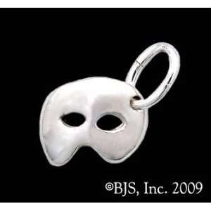 Sterling Silver Phantom Mask Charm