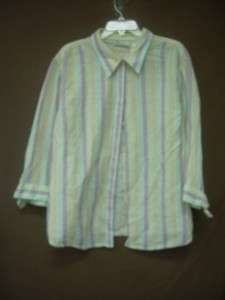 Lot of 6 Womens Cute Button Up Shirts Tops 3X 22/24 Talbots