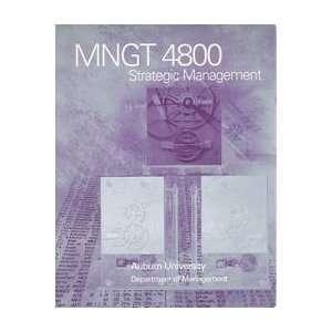 Mngt 4800   Strategic Management Books