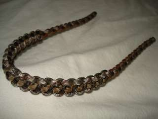 Bow Wrist Sling in Desert Camo/Dk. Brown/Tan for compound bows