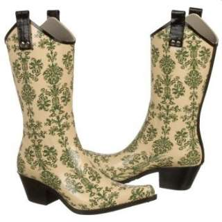 Womens Nomad Yippy Green Victorian Shoes