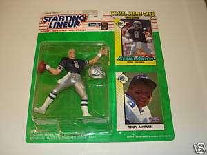 1993 Troy Aikman Dallas Cowboys Starting Lineup SLU
