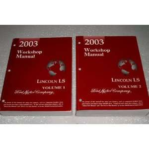 Workshop Manual (2 Volume Complete Set) Ford Motor Company Books