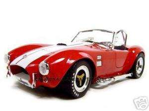 1965 SHELBY COBRA 427 S/C RED 1:18 SCALE DIECAST MODEL