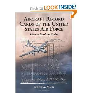Aircraft Record Cards of the United States Air Force How to Read the