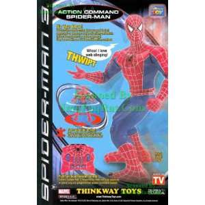 Spider Man 3 Action Command Toy with Remote Thinkway Toys