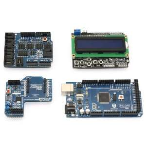 Sensor Shield V4 + SainSmart XBee Shield + SainSmart LCD Keypad Shield