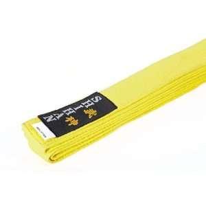 Martial Arts , Karate Belt SHIHAN Yellow 300cm