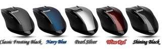 4GHz Rapoo 3200 Ergonomic USB Wireless Laser Mouse UK