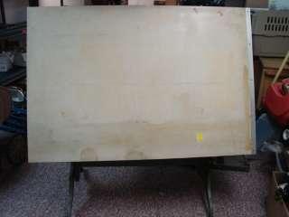 Antique Drafting Table 12183 Desk Blueprint Victorian Ornate Architect