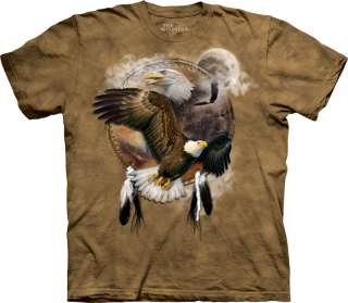 New INDIAN EAGLE SHIELD T Shirt