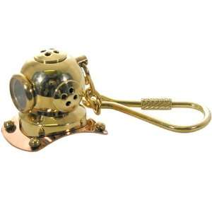 Mark V Helmet Replica Navy MK 5 Hard Hat Scuba Diving Keychain: