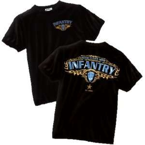 UNITED STATES ARMY INFANTRY FOLLOW ME Military T Shirt